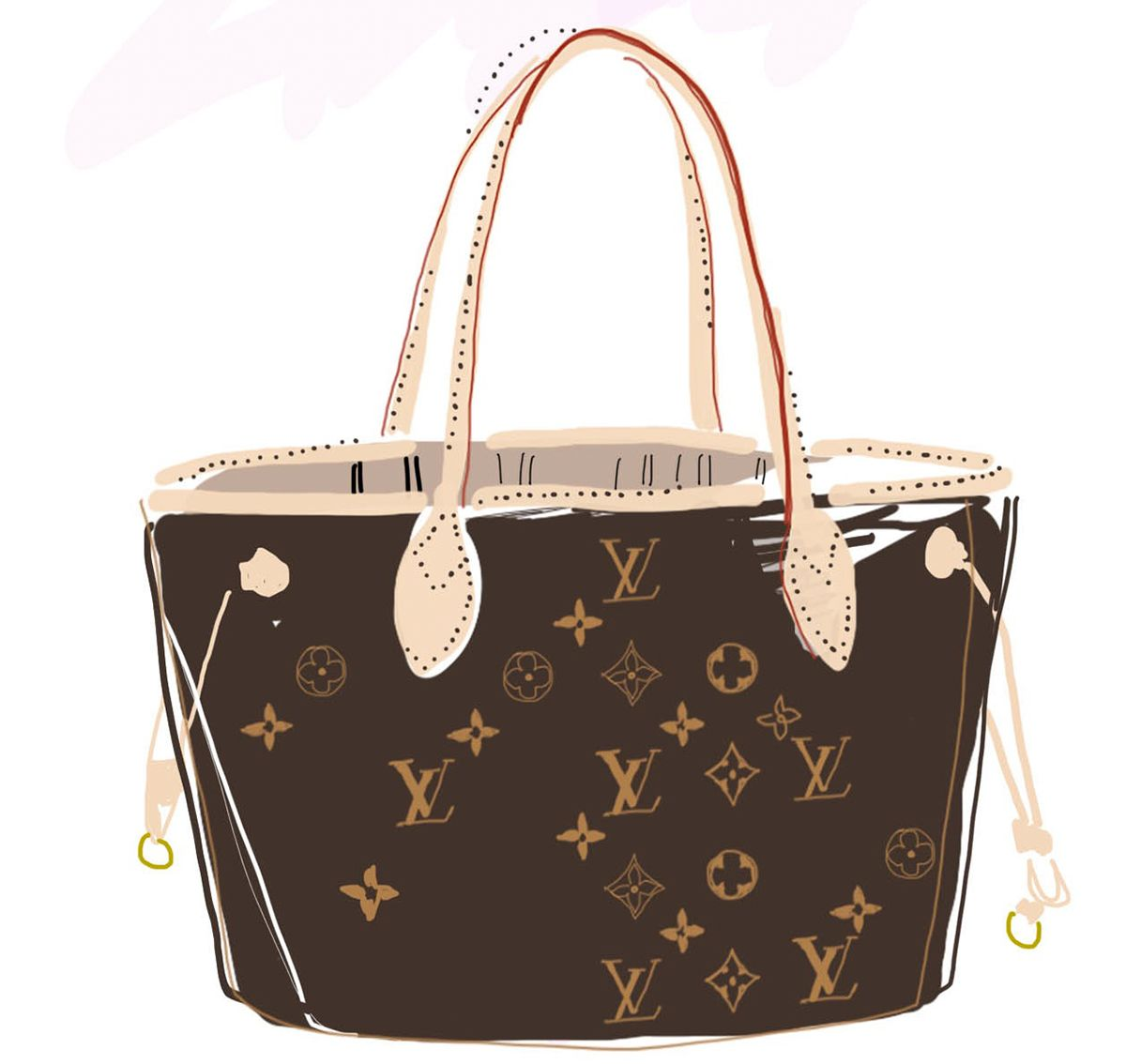 Louis Vuitton Neverfull Die Ultimative Mom Bag Fafine