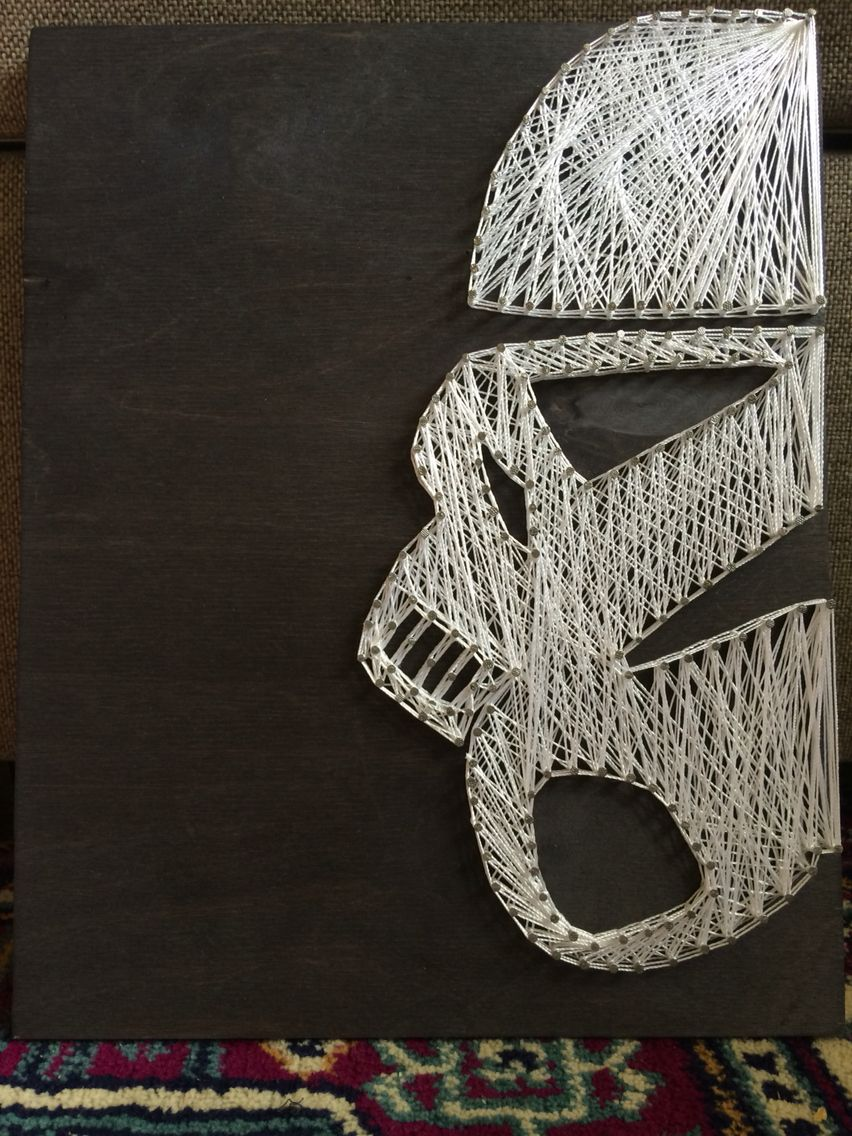 Star Wars, stormtrooper, string art | Diy | Pinterest | Fadenbilder ...