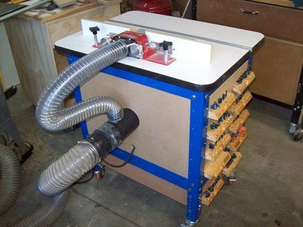 Enclosed Keg Router Table For The Workshop In 2018 Pinterest