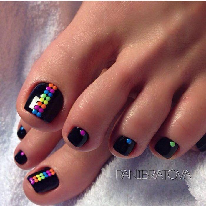 Diseños de uñas para los pies | PEDICURE | Pinterest | Diseños de ...