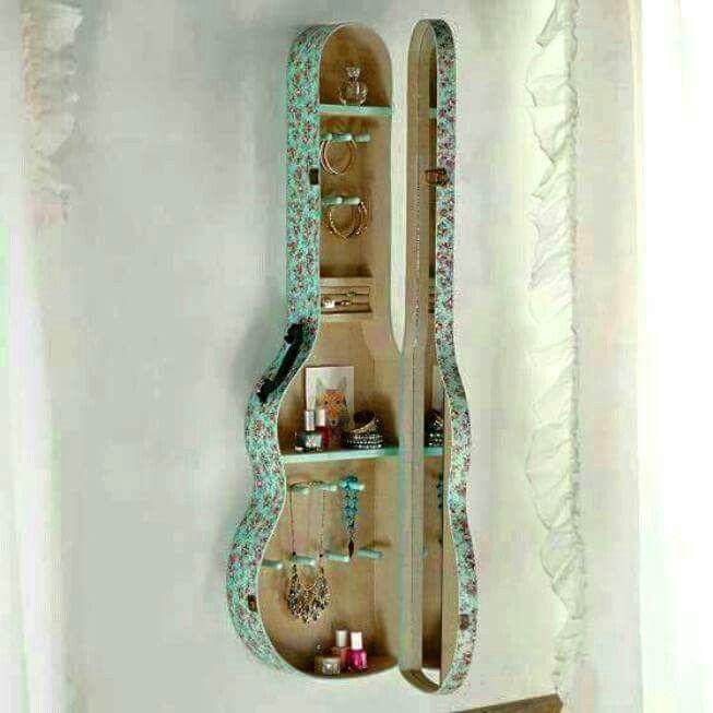Guitar case cabinet 4-H project Pinterest Guitar case