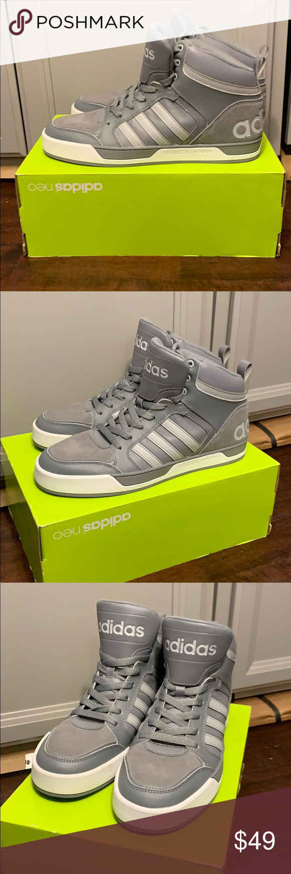lavar Acercarse Intuición  New NWT Adidas Raleigh 9TIS MTD High -Top Size 10 New Adidas Neo Raleigh  9TIS MTD Never Worn Men's size 10 adidas Shoes Sneakers in 2020 | Adidas,  Adidas neo, High tops