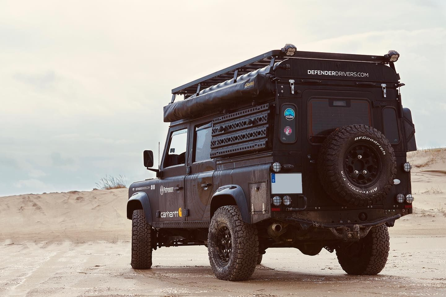 The Land Rover (from 1990 Land Rover Defender) is an off