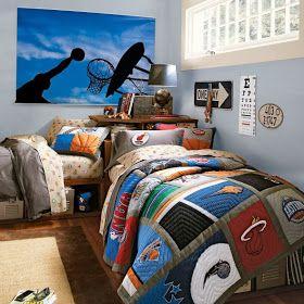 Decoración de dormitorios temáticos juveniles