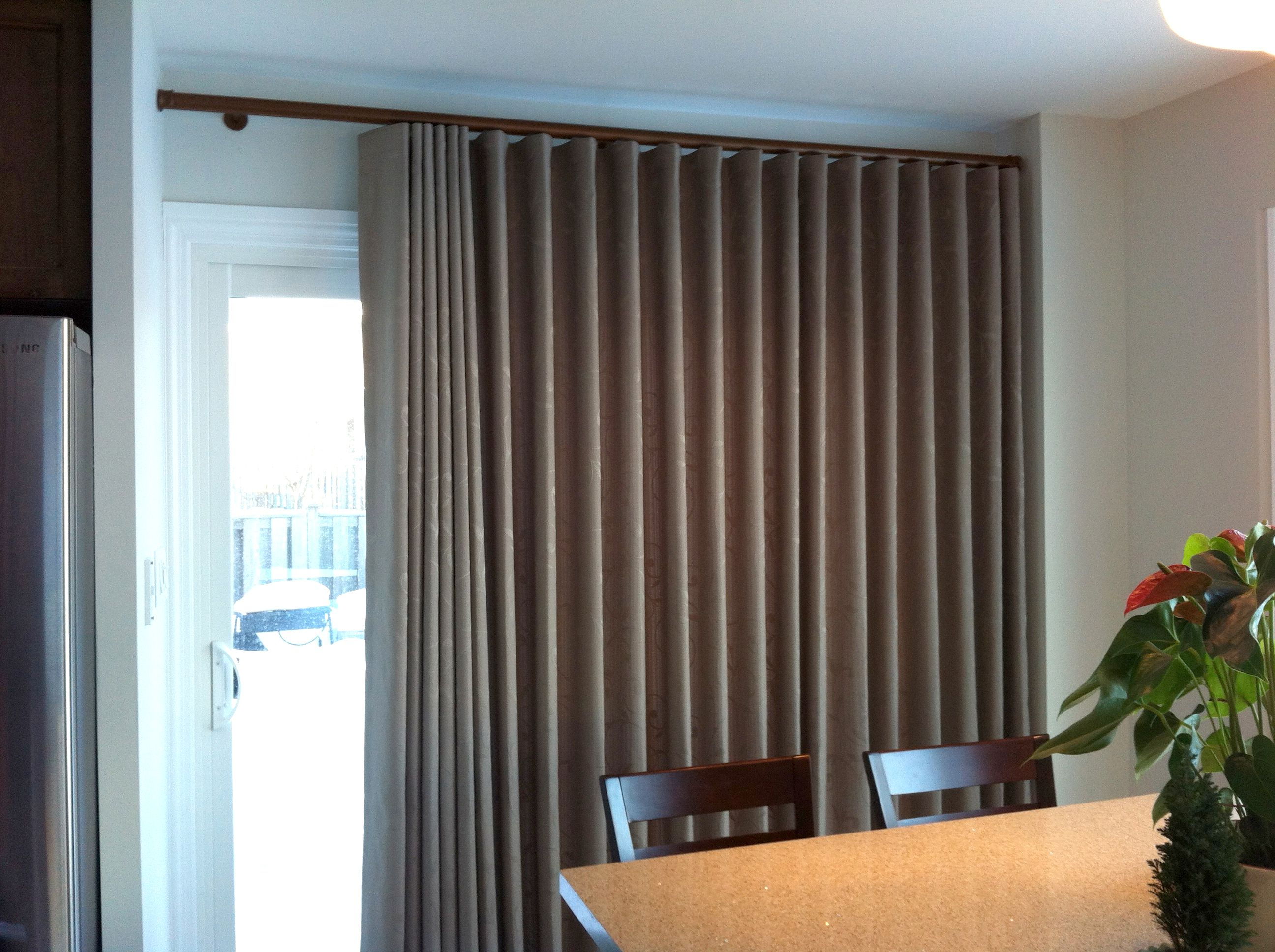 well and sliding curtains treatment id interior modern brown glass windows two tone as compelling white handmade for double glorious open ideas in accent window stylish chairs popular fabric single space drapes inspiration