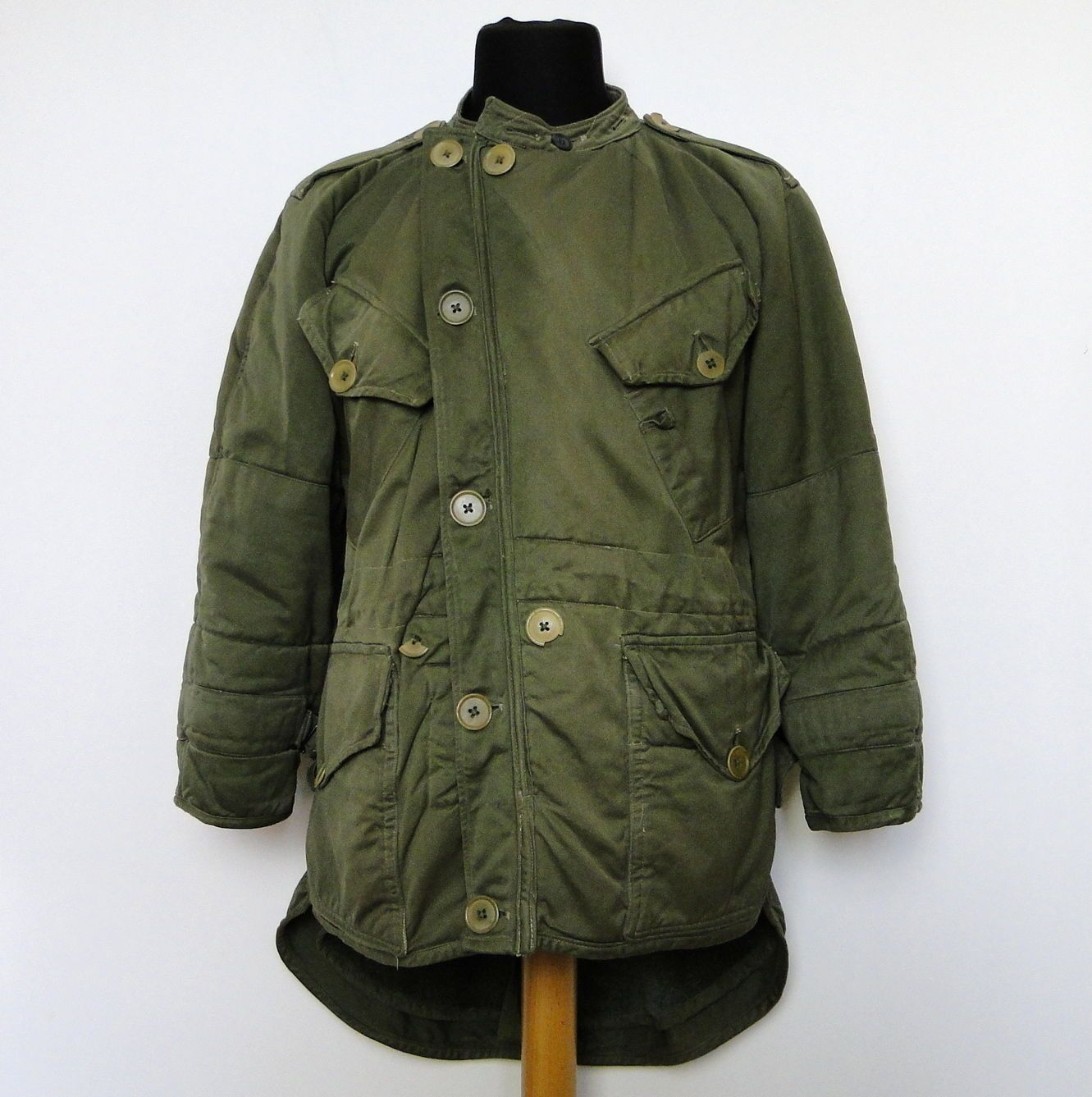 vtg 1952-1953 PATTERN BRITISH ARMY PARKAS MIDDLE WITHOUT HOOD ...