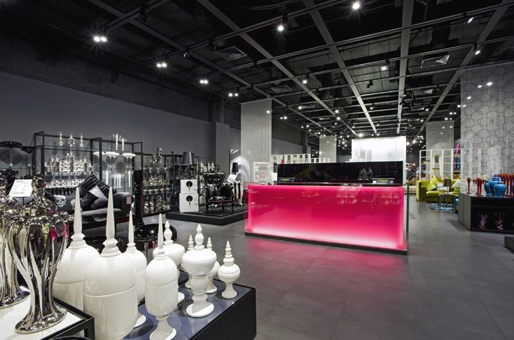 Aura store by Dalziel and Pow Riyadh Saudi Arabia 07