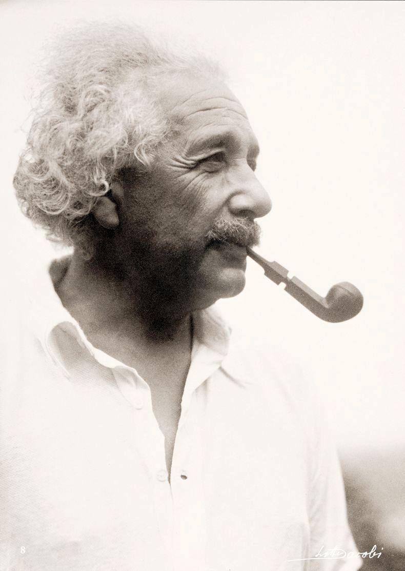 Albert Einstein. Lotte Jacobi, 1938
