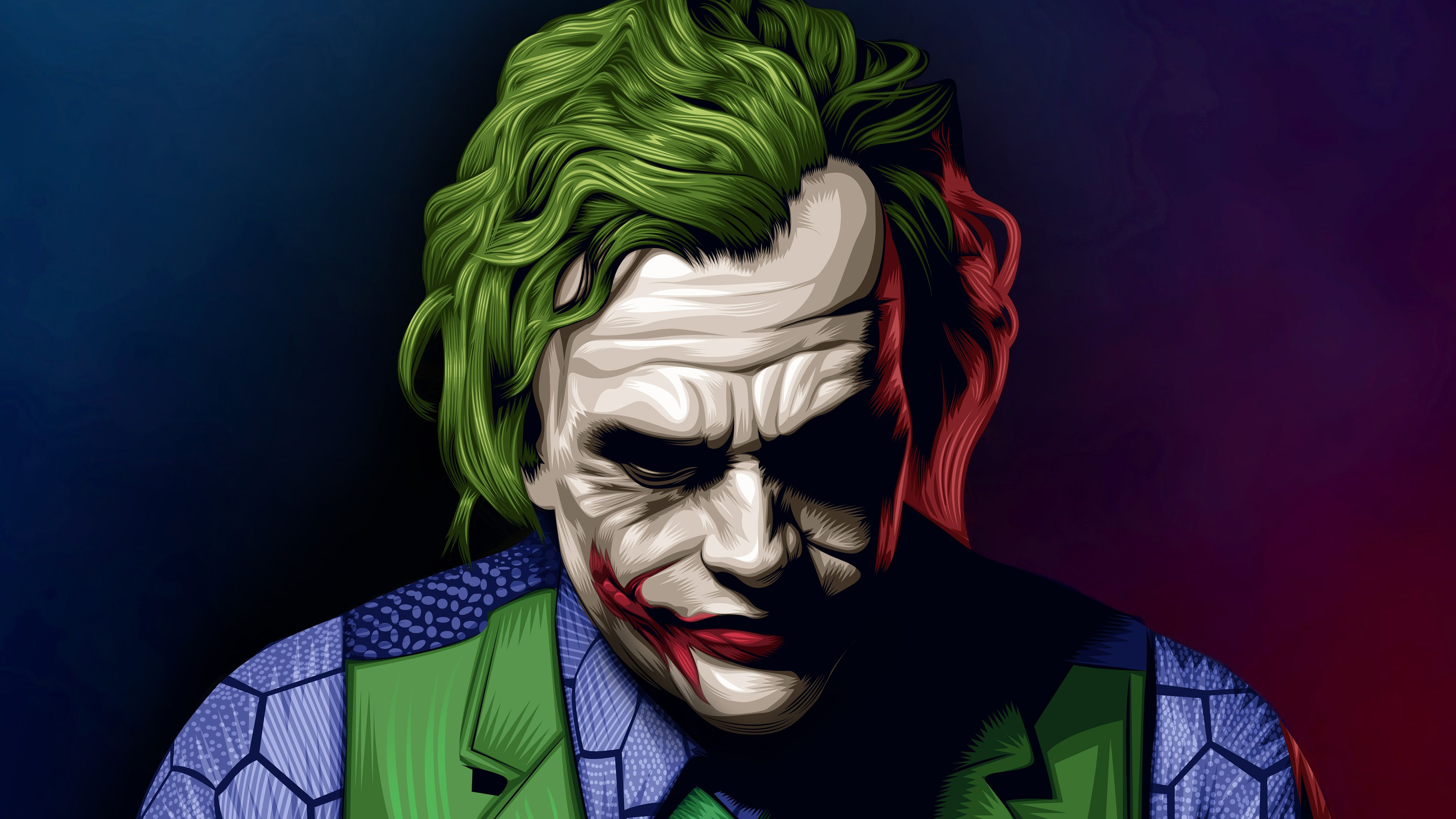 Joker Heath Ledger Illustration Superheroes Wallpapers Joker Wallpapers Hd Wallpapers Digital Art Wal Joker Wallpapers Joker 3d Wallpaper Joker Hd Wallpaper