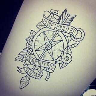 Peter Pan Quote Tattoo Peterpan Disney Sleeve Tattoos Disney Tattoos Tattoos
