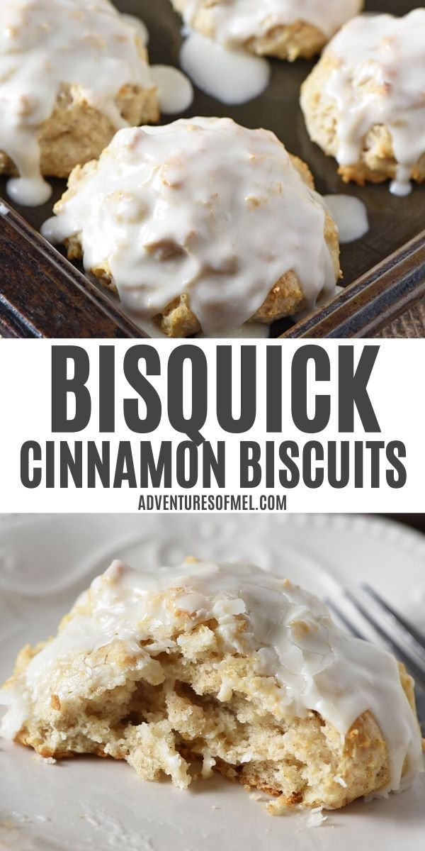 Bisquick cinnamon biscuits are simple breakfast treats you can make in a snap. Easy recipe for Bisquick sweet biscuits with cinnamon and icing. #cinnamonbiscuits #copycatrecipes #Bisquickrecipes #Hardees #breakfast #brunchfood