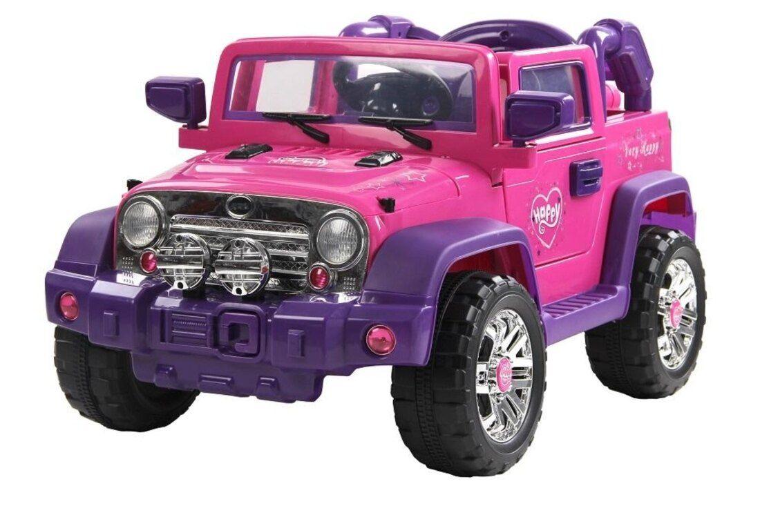 Jipe Eletrico Bel Brink Rali Pink Com Controle Remoto Em 2020 Carro Eletrico Infantil Jipe E Controle Remoto