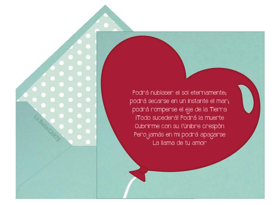 Una Carta Del Dia De San Valentin En Ingles San Valentin