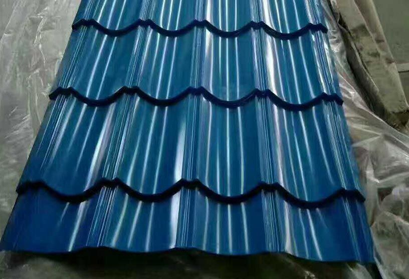 Trapezoid Tiles 35 185 740 T5 Corrugated Steel Roofing Steel Roofing Steel Roofing Sheets