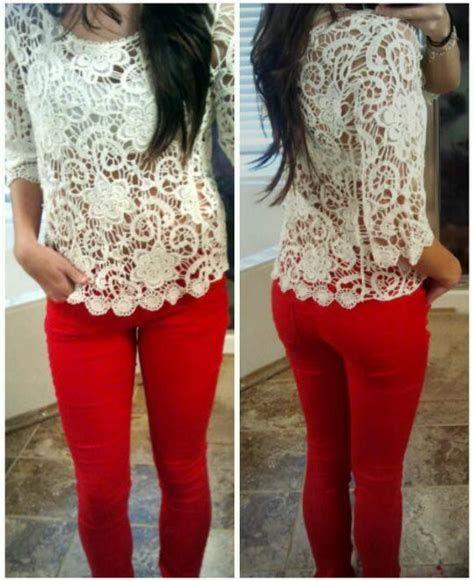 Mode Tout sur la couleur des jeans skinny