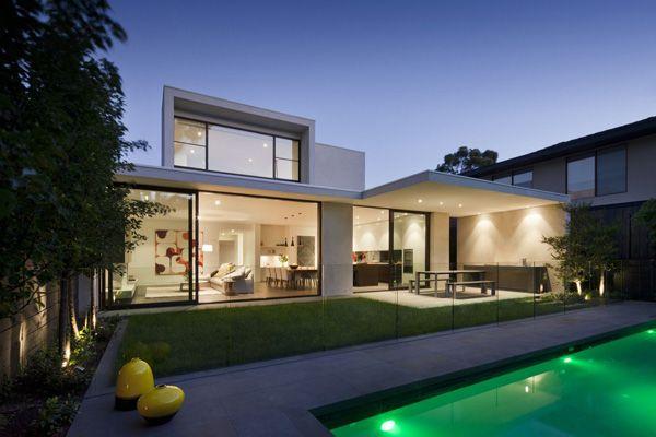 Maison contemporaine avec de magnifiques int rieurs - Maison architecture contemporaine grupo arquitectura ...