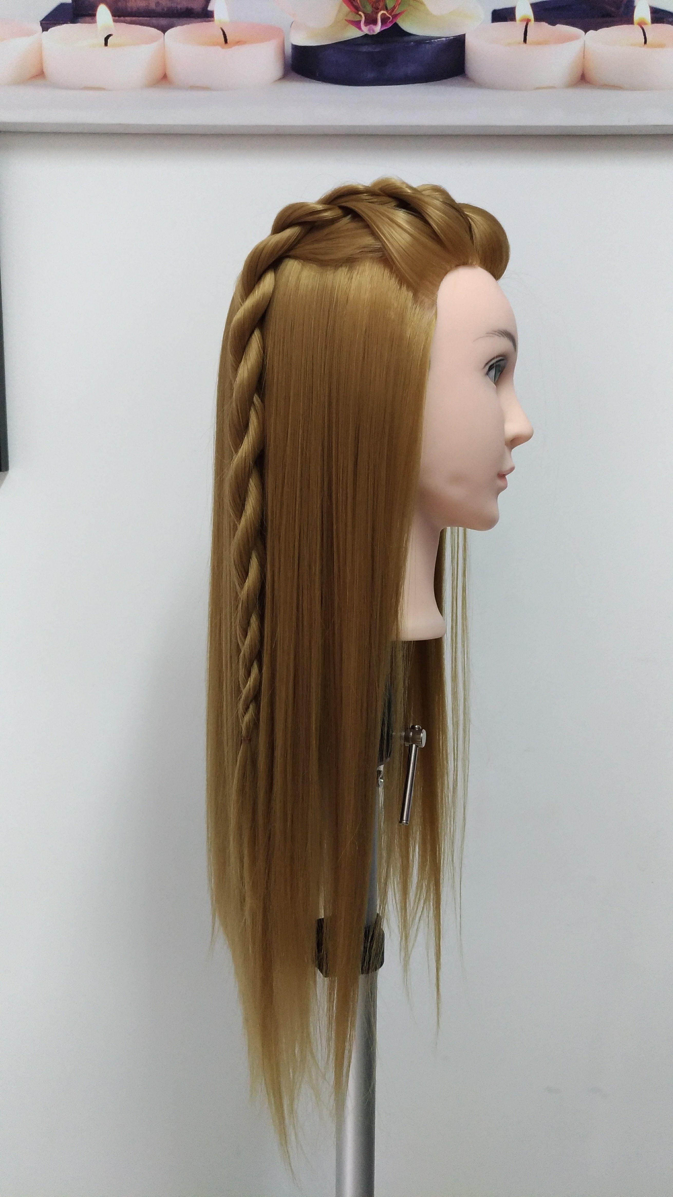 Peinado facil trenza dos cabos