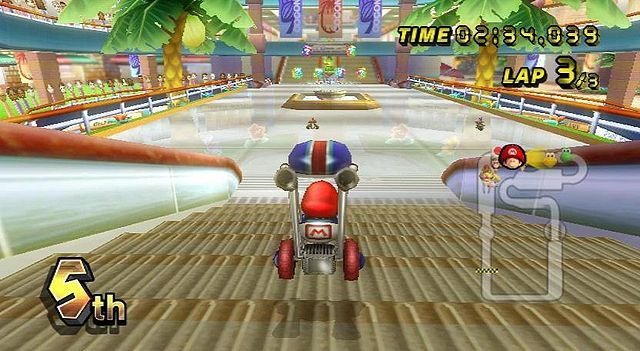 Image result for mario kart wii coconut mall