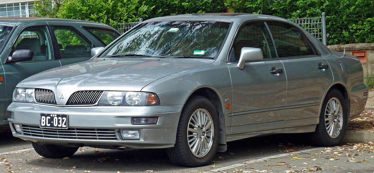 2002 Mitsubishi Verada Kj Series 2 Xi Sedan Mitsubishi Magna