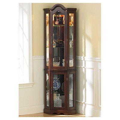 Kennedy Curio Cabinet Furniture Wayfair Decor Pinterest