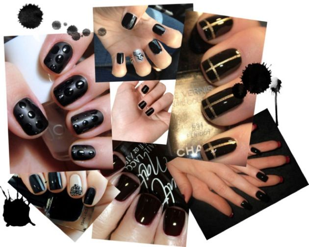 Tendencia Black Manicura: claves básicas y selección de esmaltes