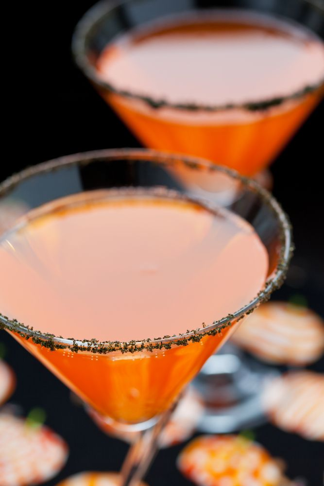 This bone-chillingly good non-alcoholic punch is sure to be a hit at - halloween cocktail ideas