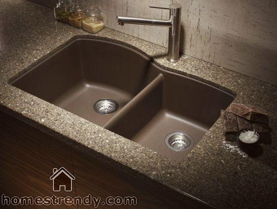 Get A Modern Sink For Your Home Kitchen Home Trendy Granite Kitchen Sinks Composite Kitchen Sinks Undermount Kitchen Sinks