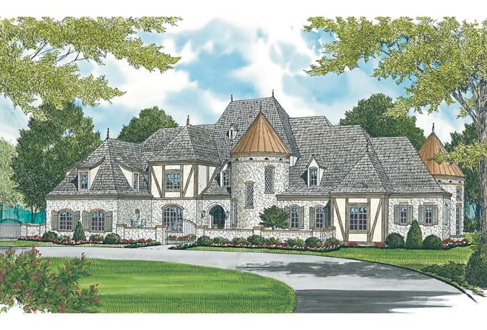 House Plan 3323-00561 - French Country Plan: 8,933 Square Feet, 7 ...