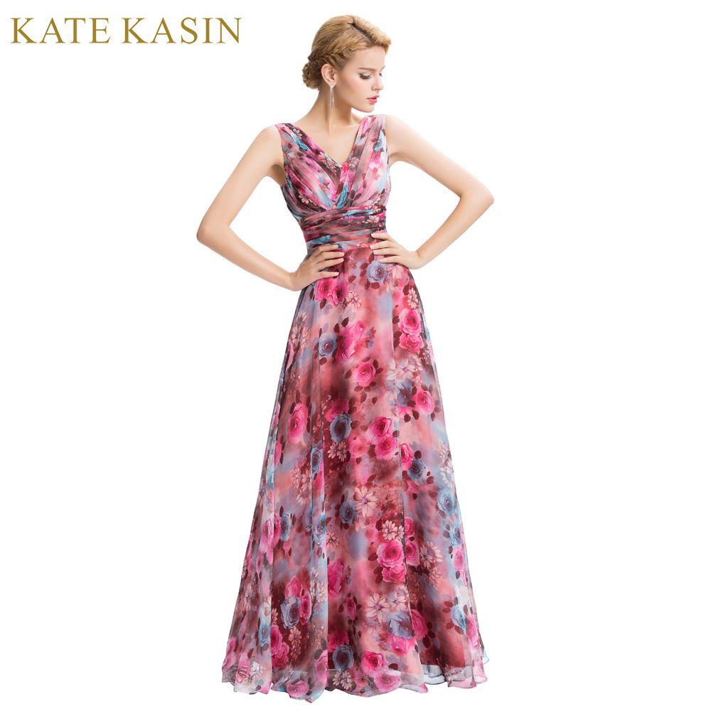 comprar Robe de Soiree 2017 estampado floral un hombro vestidos de ...