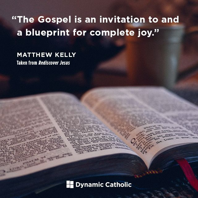 The Gospel is an invitation to and a blueprint for that complete joy - fresh blueprint paper name