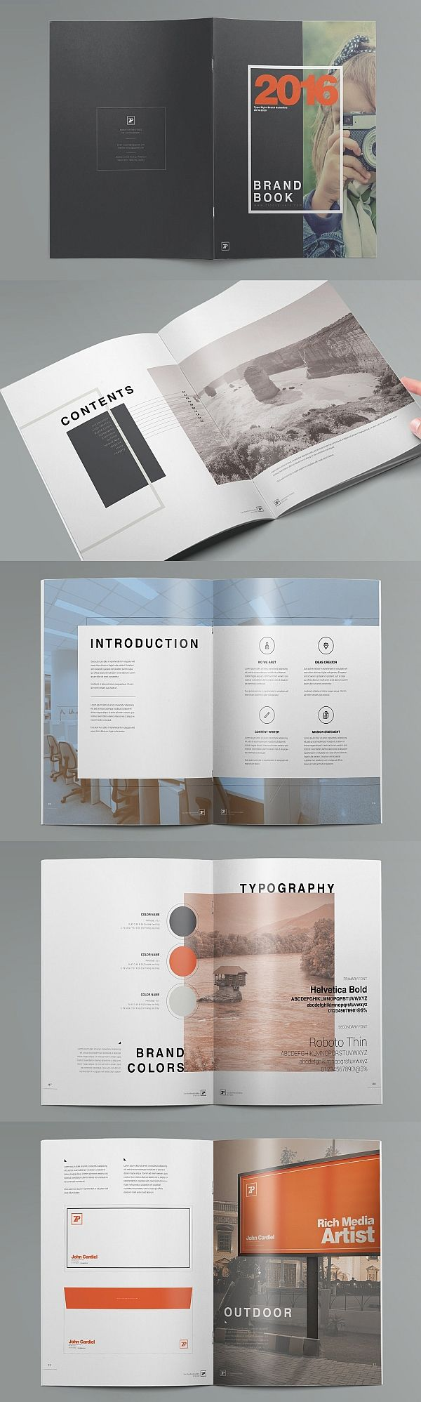 The Muse Brand Guide Template Brand Guide Brand Guidelines Template Brand Book