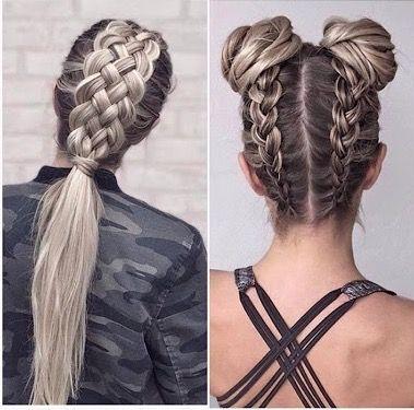 Pin By Miranda Nygaard On Hair Viking Hair Plaits Hairstyles Concert Hairstyles