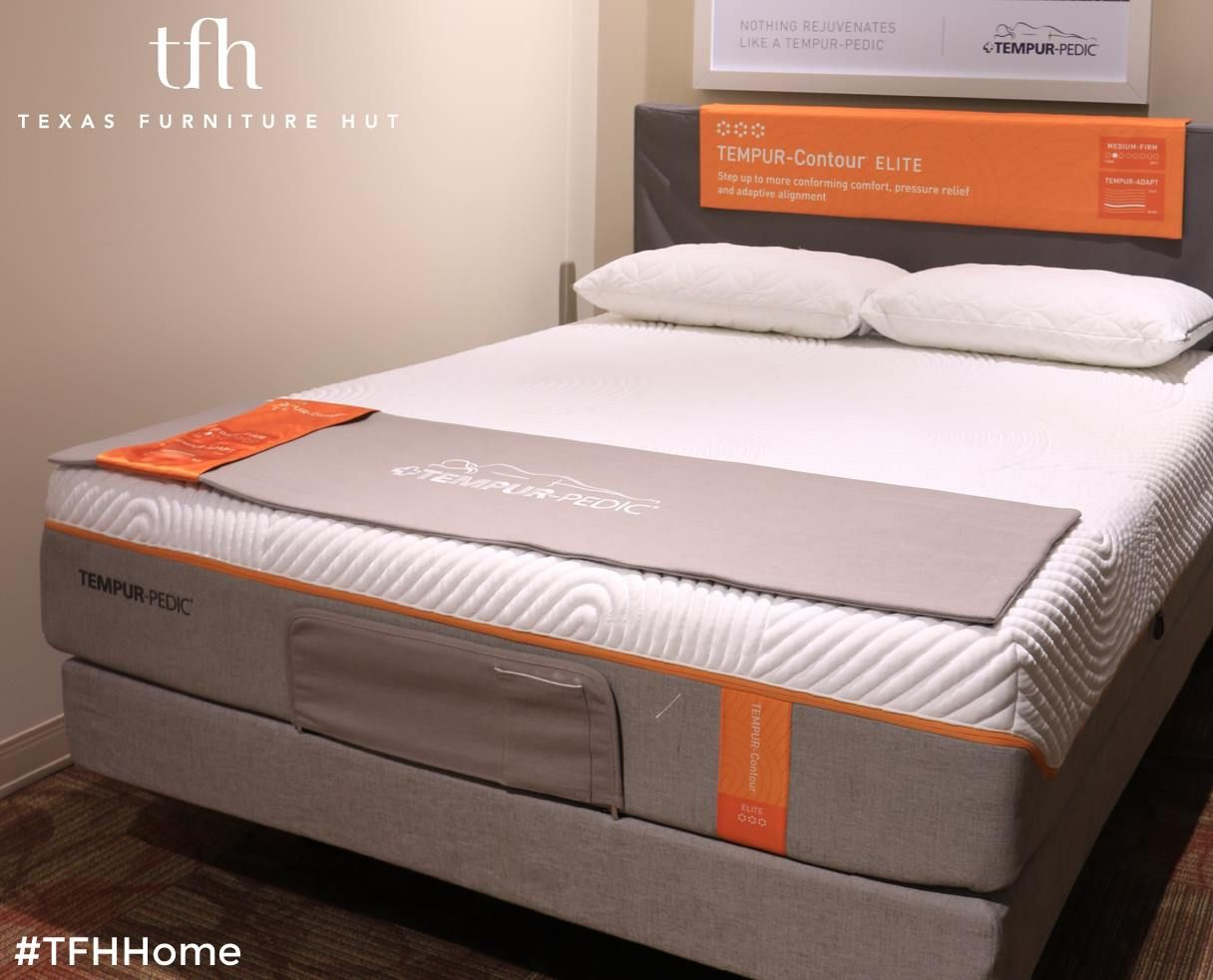 Did You Know That Texas Furniture Hut Carries Tempur Pedic