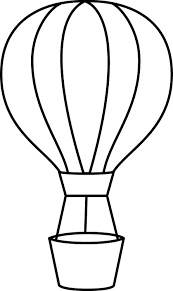 image result for hot air balloon drawing template string art rh pinterest com hot air balloon basket clipart black and white Minion Clip Art Black and White