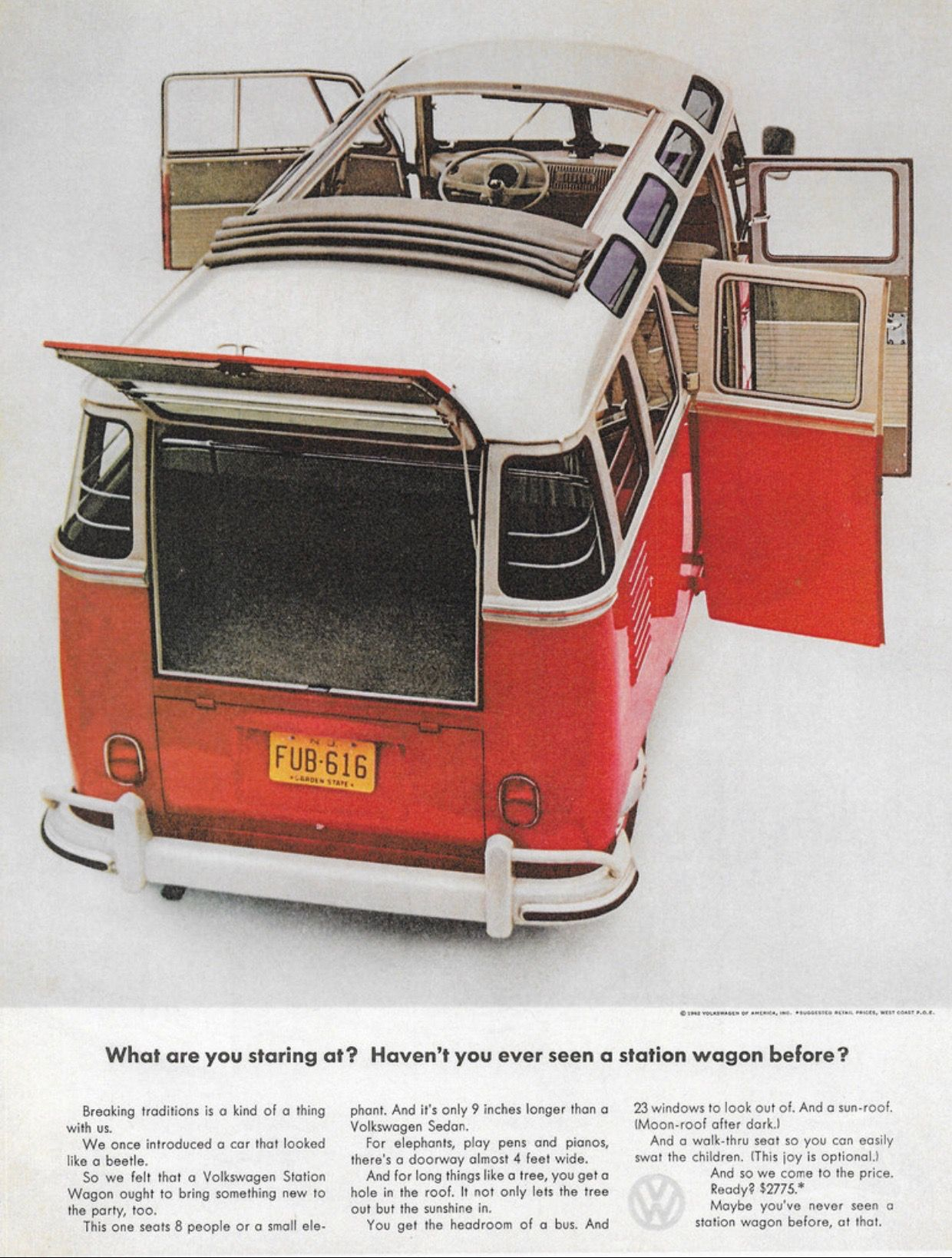 1962 Volkswagen Station Wagon Usa By Michael On Flickr Volkswagen Bus Volkswagen Vw Busjes