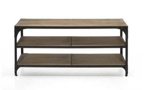 meubles tv alinea meuble tv style industriel new ately alinea pinterest. Black Bedroom Furniture Sets. Home Design Ideas