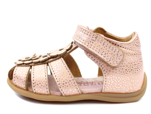 d7dc936e9029 Bisgaard sandal blush with flowers in 2019