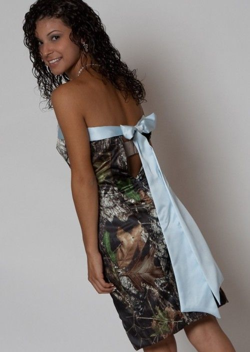 camouflage prom dress   Short Camo Prom Dresses   Prom dress ideas ...