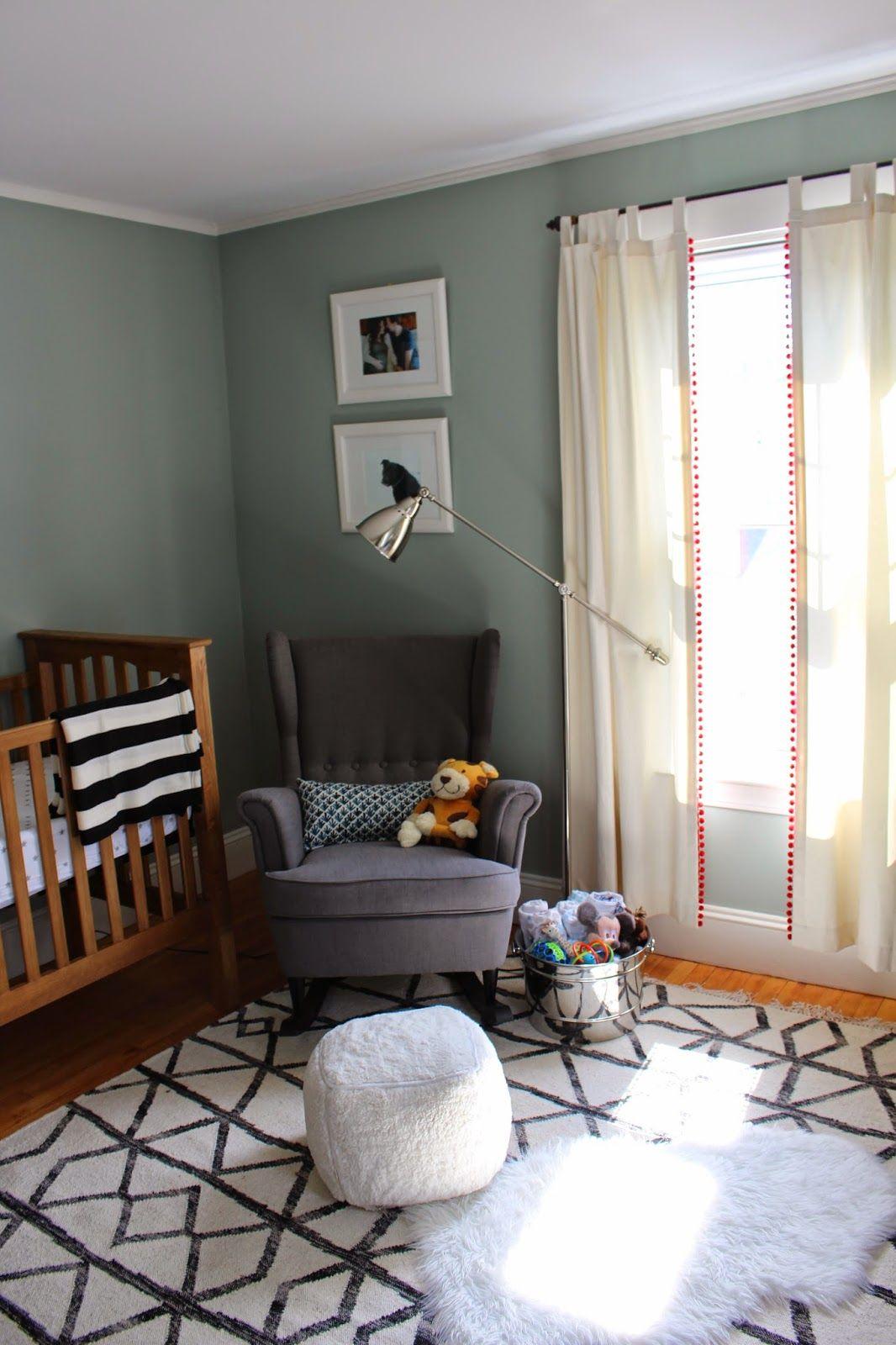 Baby Boy Light Sage Green Charlie B Boys Room