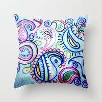 Throw Pillows by Bohemian Bear By Kristi Duggins   Society6