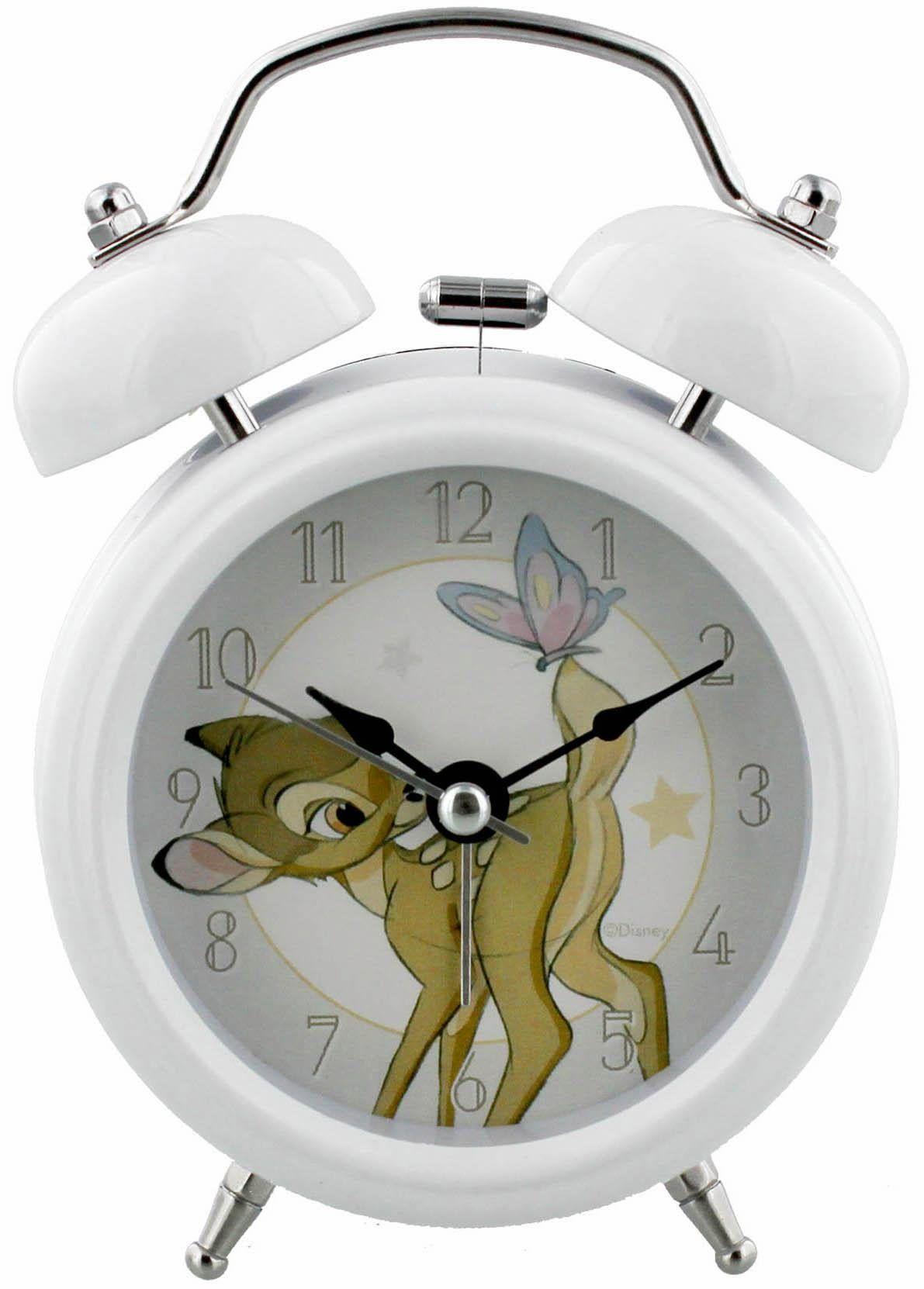 Home affaire Wecker weiß, »Disney Bambi« Jetzt bestellen unter: https://moebel.ladendirekt.de/dekoration/uhren/wecker/?uid=d413a77d-f845-5464-8552-473ef61ee60b&utm_source=pinterest&utm_medium=pin&utm_campaign=boards #uhren #wecker #dekoration
