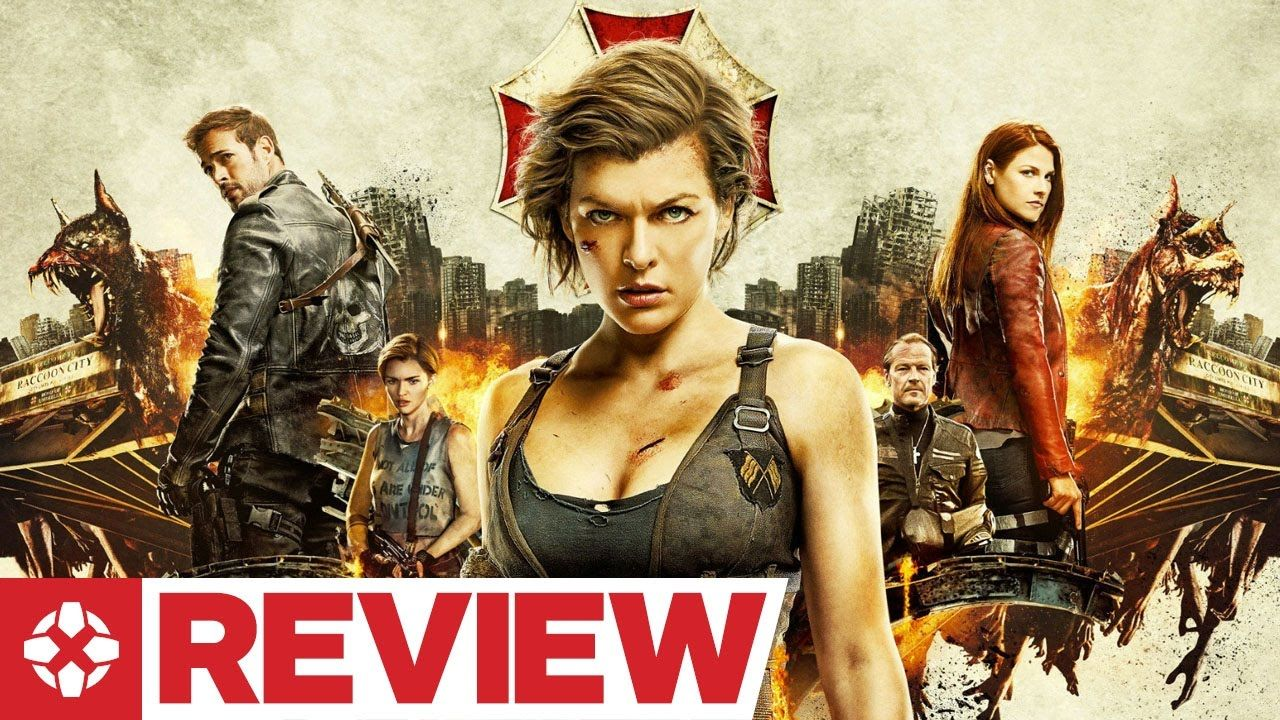 Resident Evil The Final Chapter Movie Review Game Site