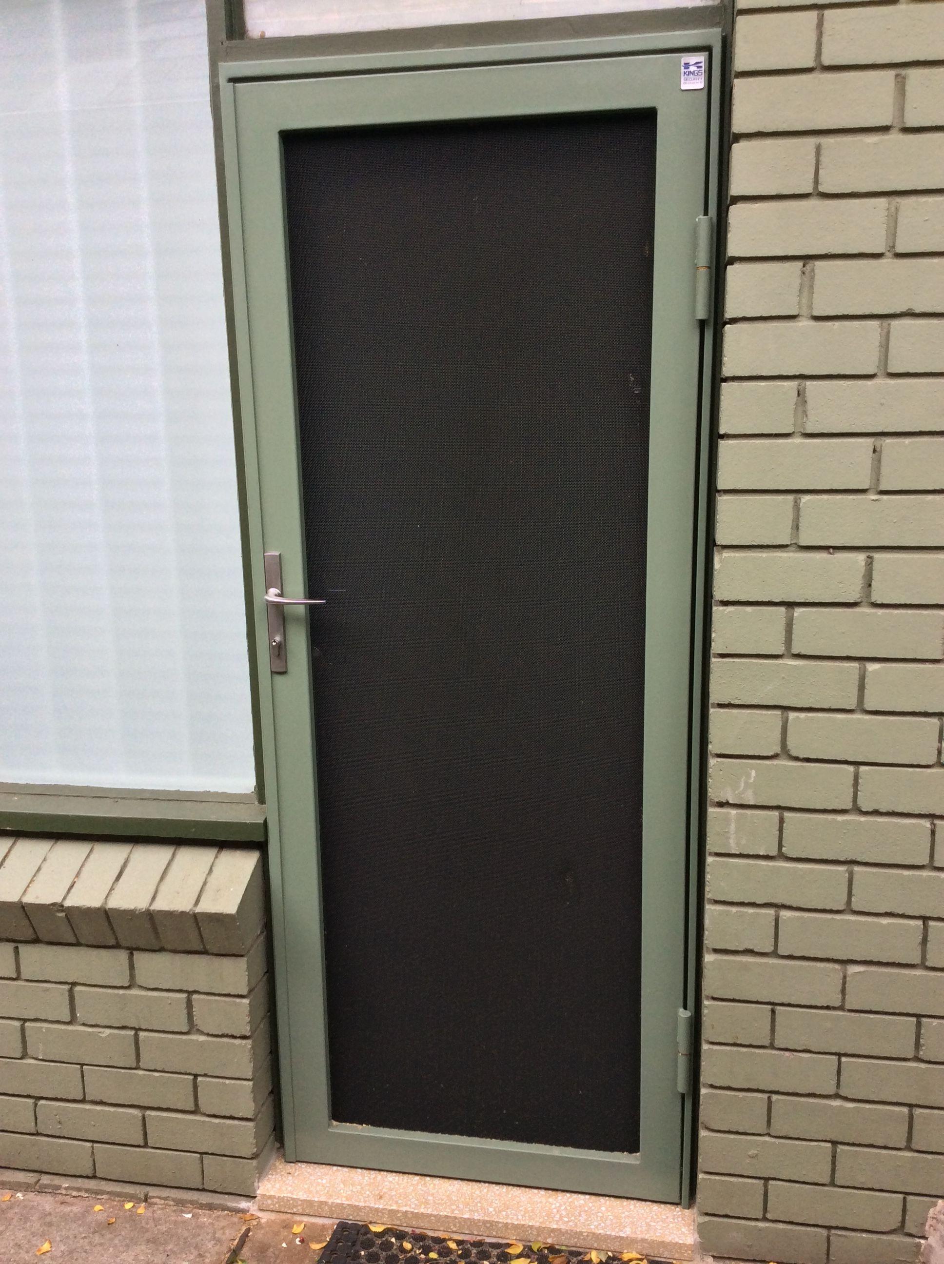 Kingsafe Ultimate Door Made By Kings Security Doors Beats Any Screen