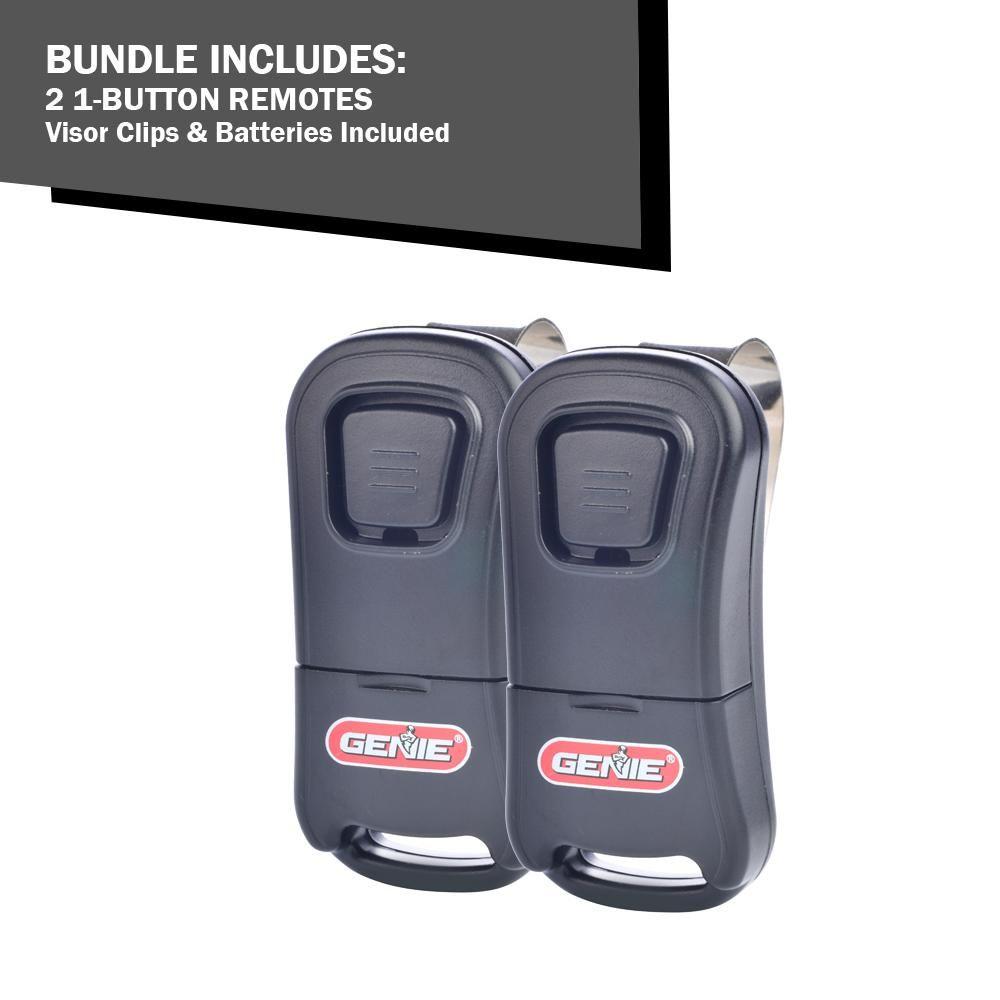G1t Bx 1 Button Remote 2 Pack Visor Clips Garage Door Accessories Garage Door Opener Remote