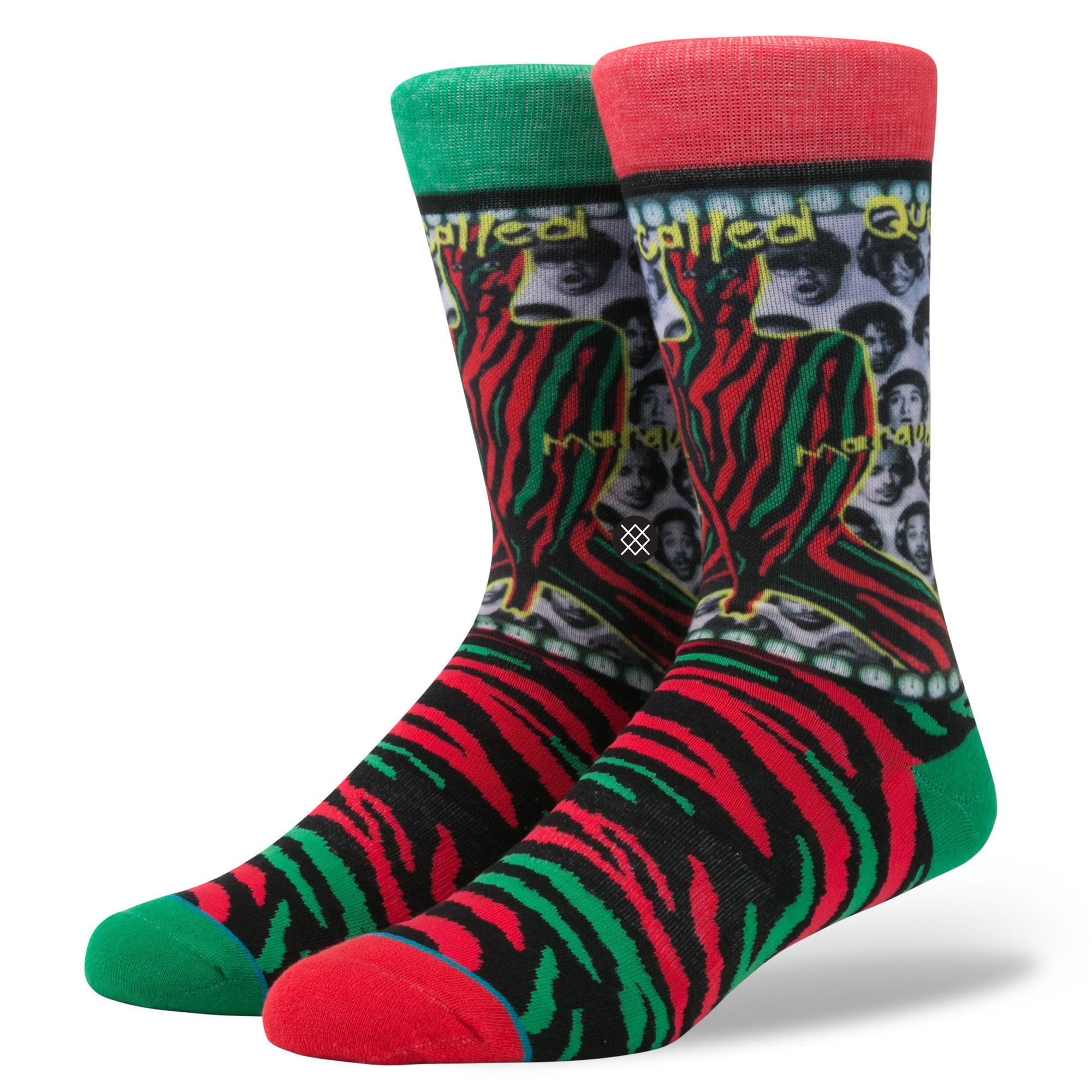 Stance x A Tribe Called Quest - Midnight Marauders Men s Socks ... c8341d531963