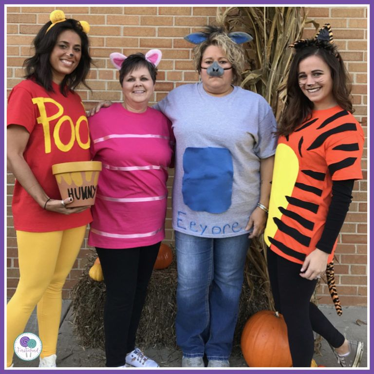 Halloween Costumes For Teachers In A Group - Teacher costumes, Teacher halloween costumes, Diy ...
