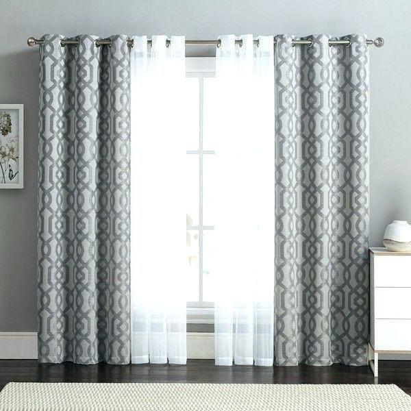 curtain rods double curtain rod