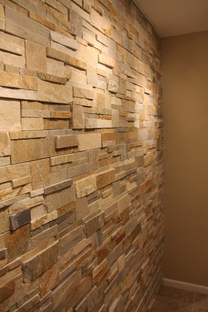Accent Wall Natural Stone Remodeling Projects