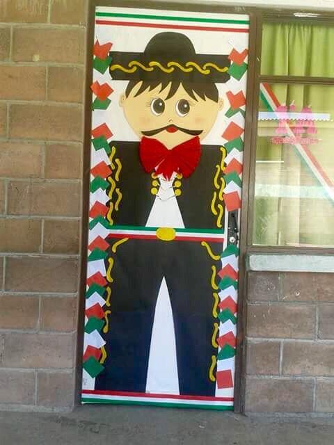 Puertas decoradas lectura puertas decoradas for Puertas decoradas para el 16 de septiembre