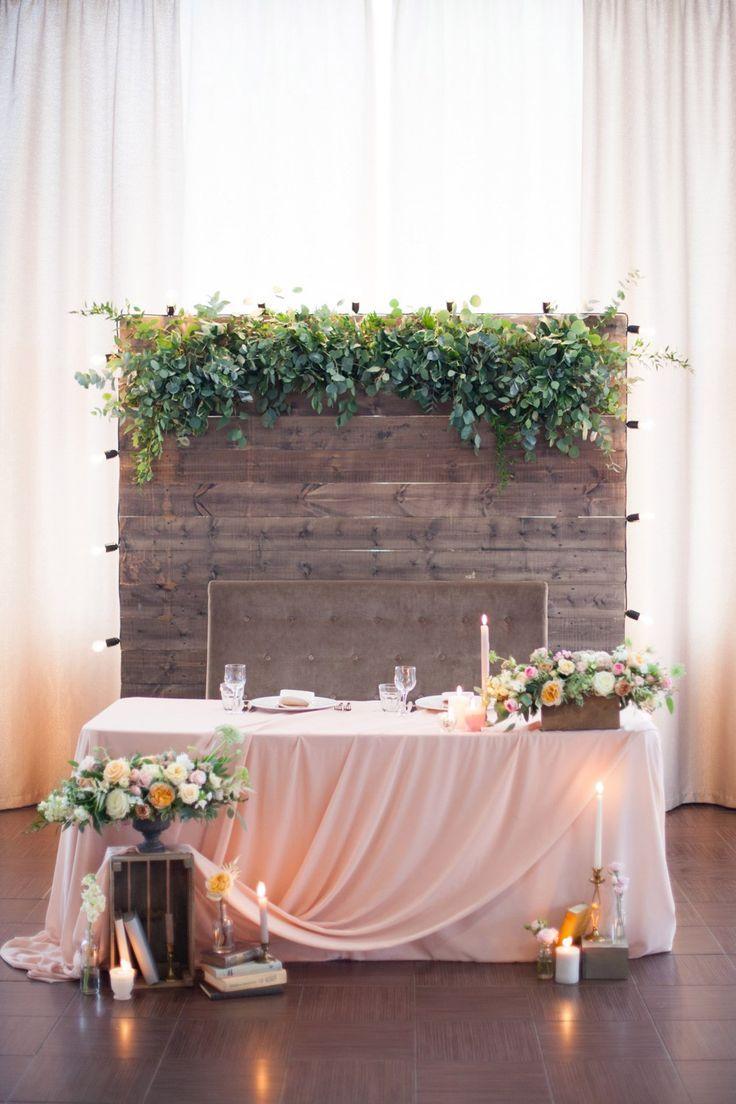 Rustic Wedding  | one. | Head table wedding ...